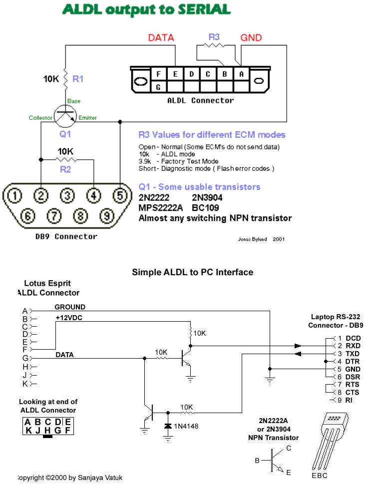 [SCHEMATICS_4ER]  Making my own ALDL cable for TunerPro -- which of these 2 schematics? -  Third Generation F-Body Message Boards | Aldl To Usb Schematic |  | ThirdGen.Org